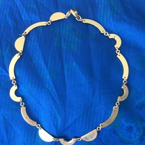 Jewelry - Gold choker of semi circles